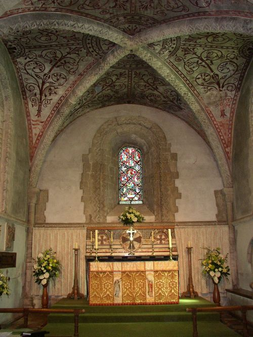 medieval church nave