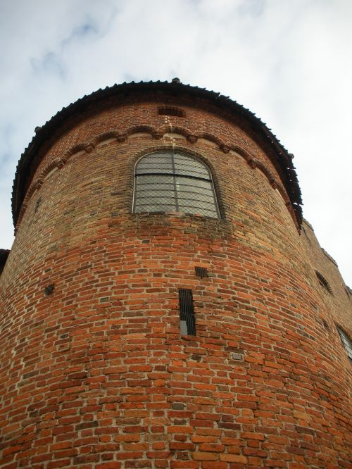 medieval castle detail corner tower