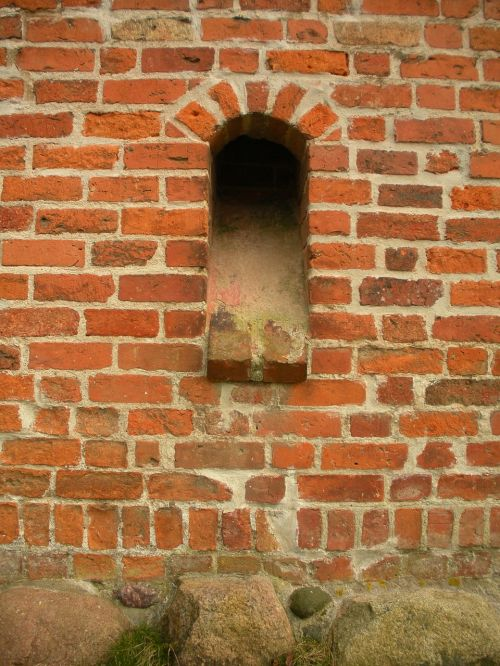 medieval castle detail lower storey