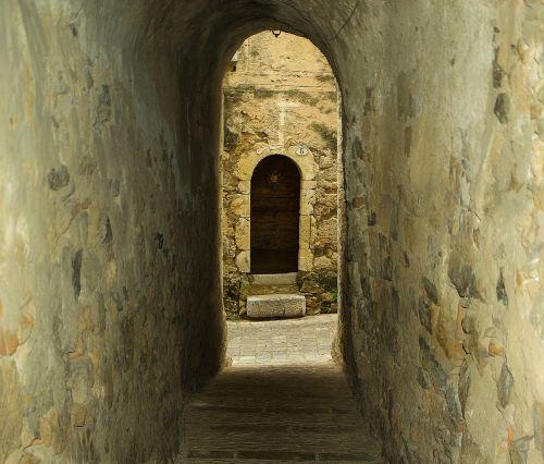 medieval village lane pavers