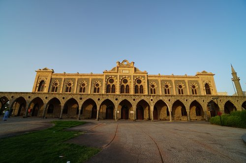 medina train station  medina  ottoman railway station