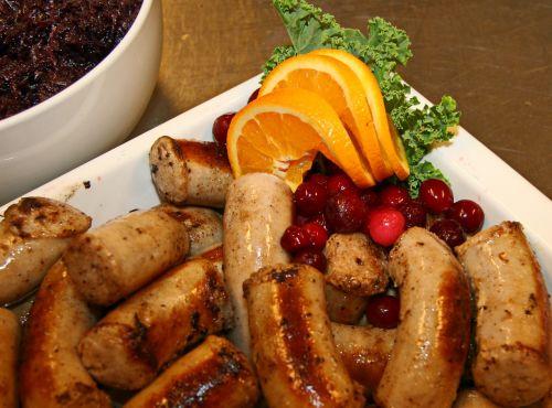 medisterpølse sausage orange