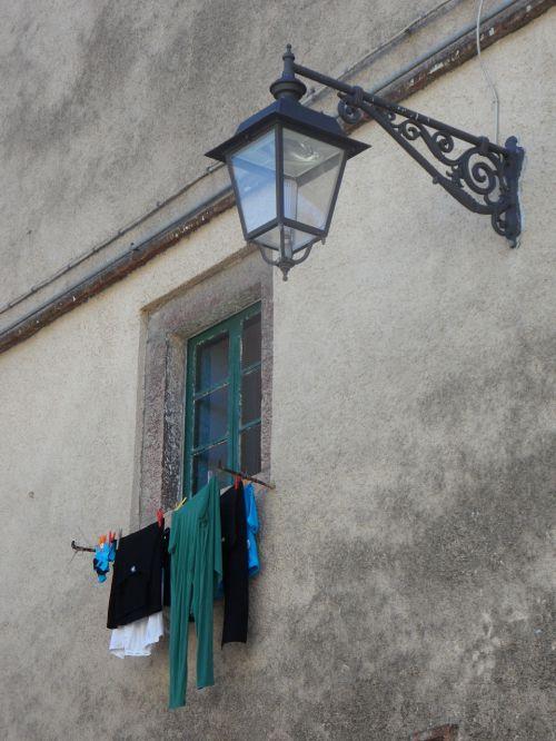 mediterranean facade lantern