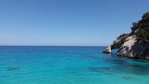 mediterranean turquoise sea