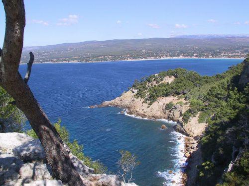 mediterranean sentier littoral you sea