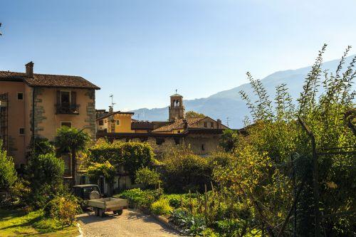 mediterranean landscape garda italy