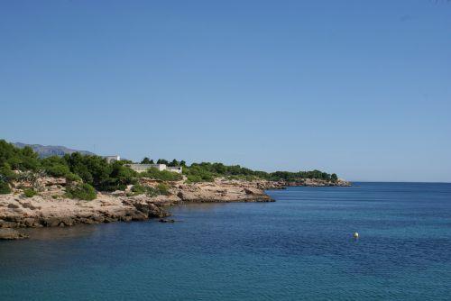 mediterranean sea landscape seashore