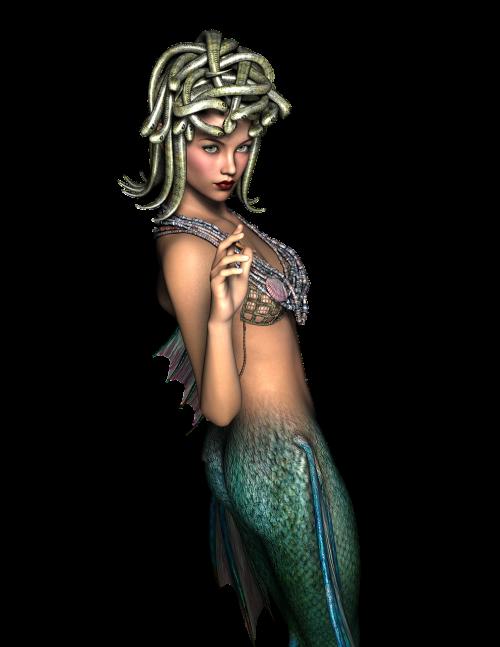 medusa mermaid female