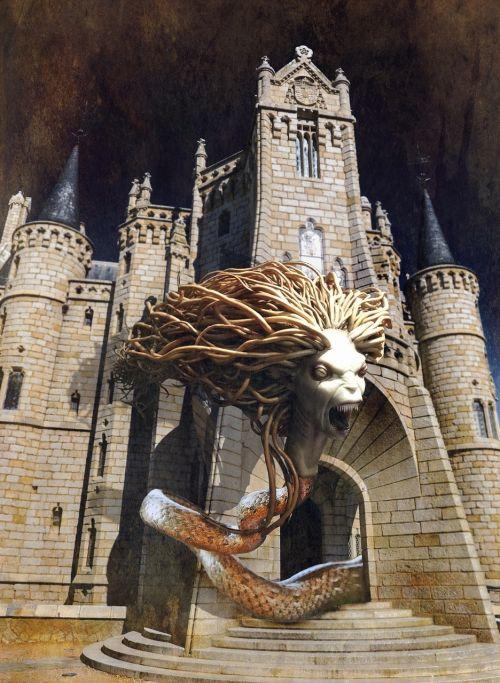 medusa horror castle