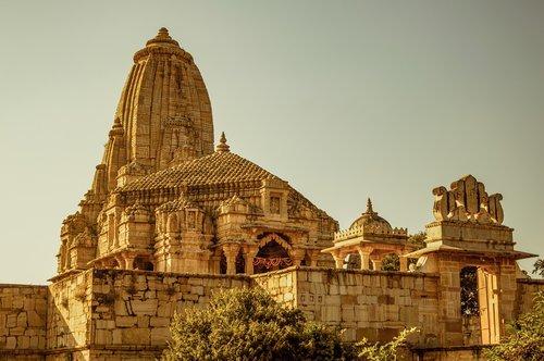 meera bai temple  chittor fort  hindu temple