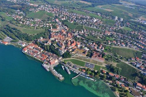 meersburg  lake constance  germany