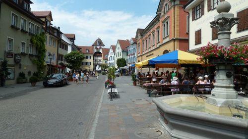 meersburg lake constance old town
