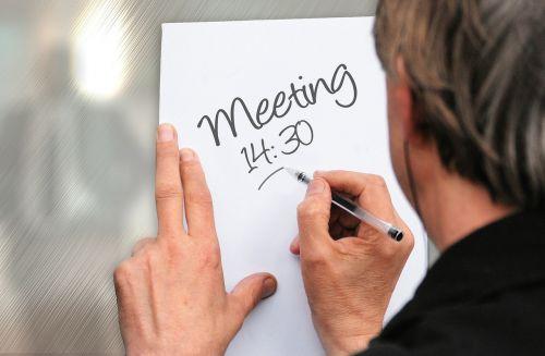 meeting memo time