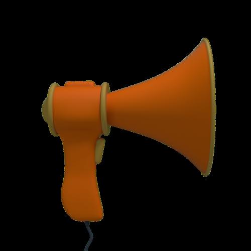 megaphone sound loudspeaker