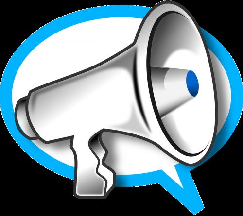 megaphone phone speak