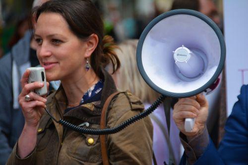 megaphone loud speaker speaker