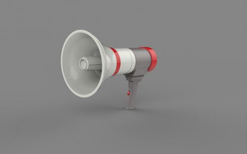 megaphone loud speak