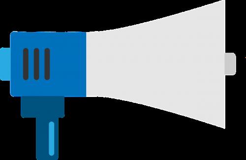 megaphone feedback loud