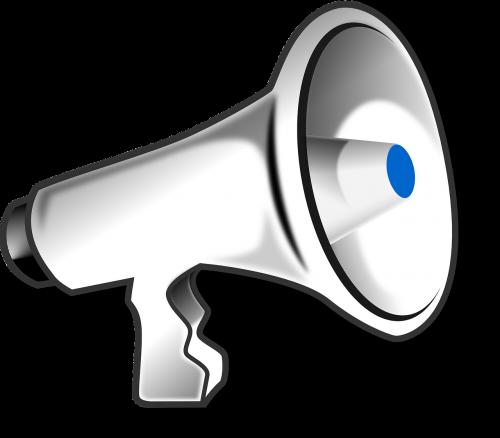 megaphone loudhailer speaker
