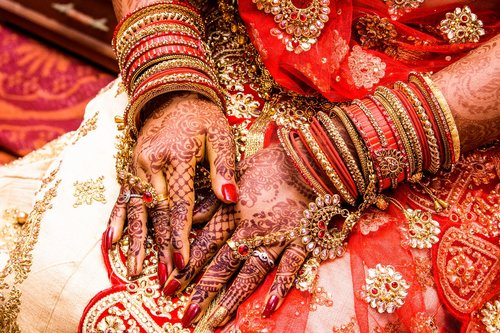 mehendi  bangles  wedding