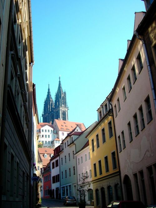 meissen dom towers