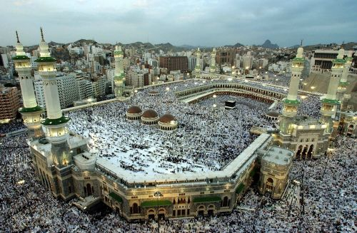 mekkah kabah masjid