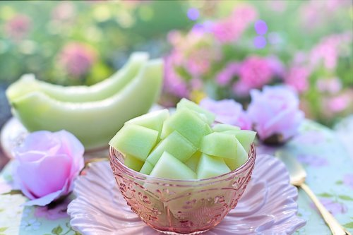 melon  honey dew melon  breakfast