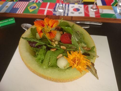 melon salad simply