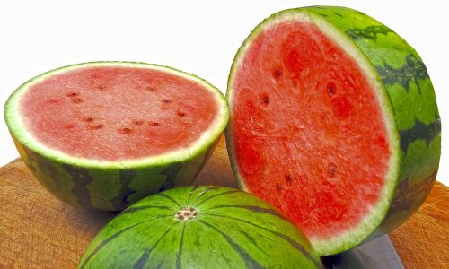 melon water melon crushed pulp