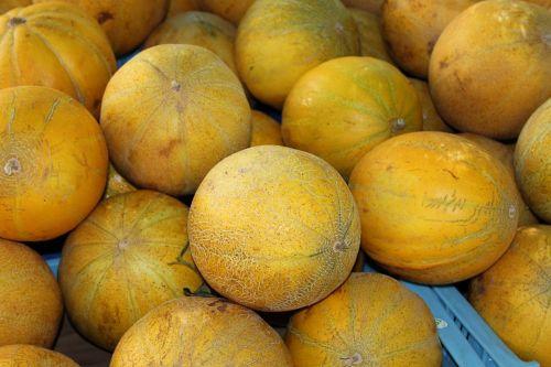 melons fruits food