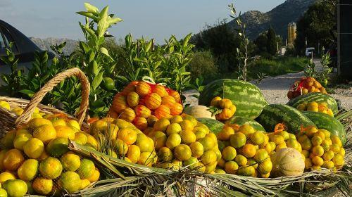 melons lemons market