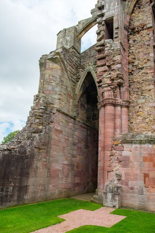 melrose abbey abbey scotland