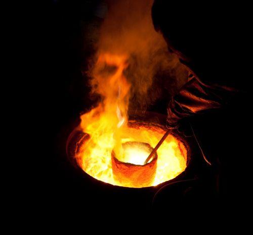 Melting Molten Metal