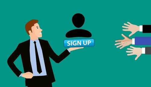 membership  sign up  register