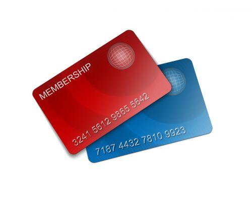 membership card credit