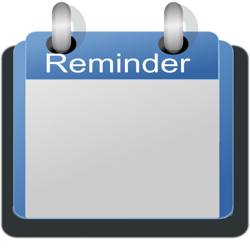 memo calendar reminder