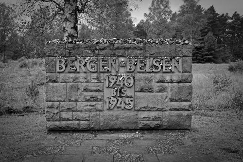 memorial belsen mountains holocaust