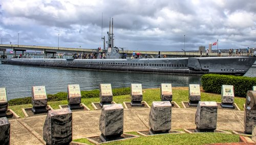 memorial  submarine  navy