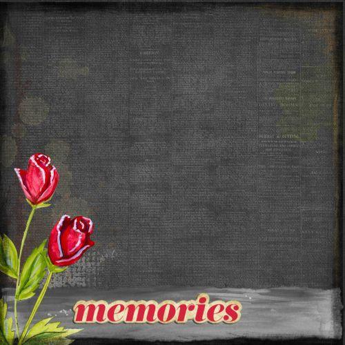 Memories Background Scrapbook Retro