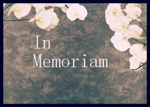 memory mourning commemorate