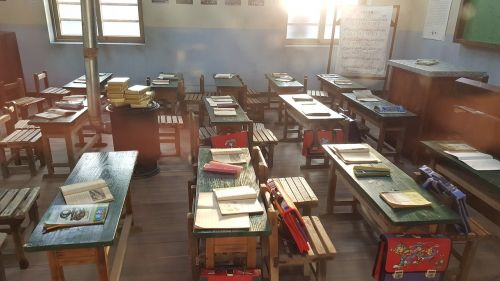 memory elementary school in the classroom