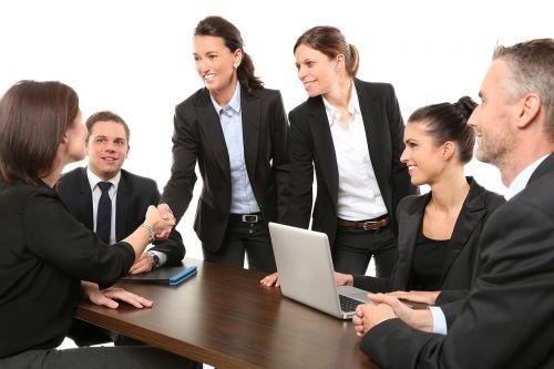 men employees suit