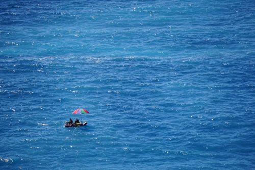 men ocean travel
