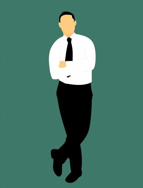 Men, Businessman, Full Length,