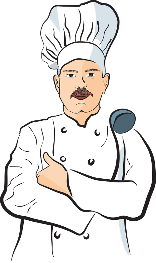 men chef chef man