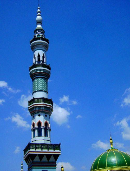 menara masjid pagak