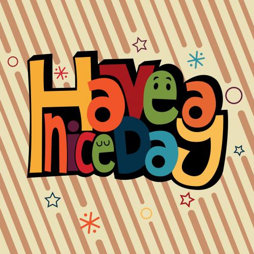 mensaje vector happiness