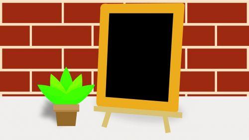 menu board blackboard board