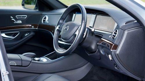 mercedes interior auto