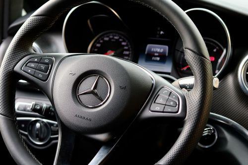 mercedes interior vehicle